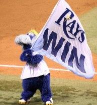 Rays mascot Raymond