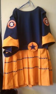 Greenville Astros, Tess dress